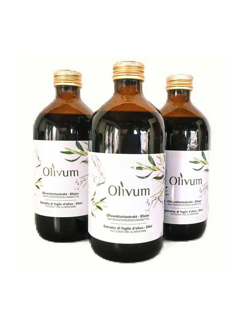 Olivum Elixir olive leaves extract